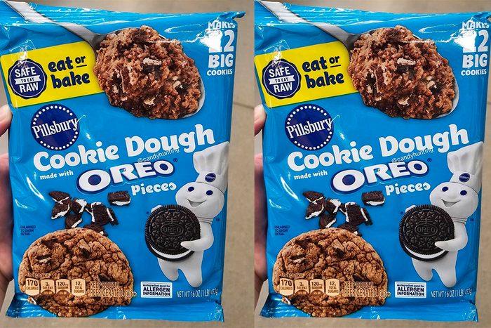New Pillsbury Oreo cookie dough you can bake or eat