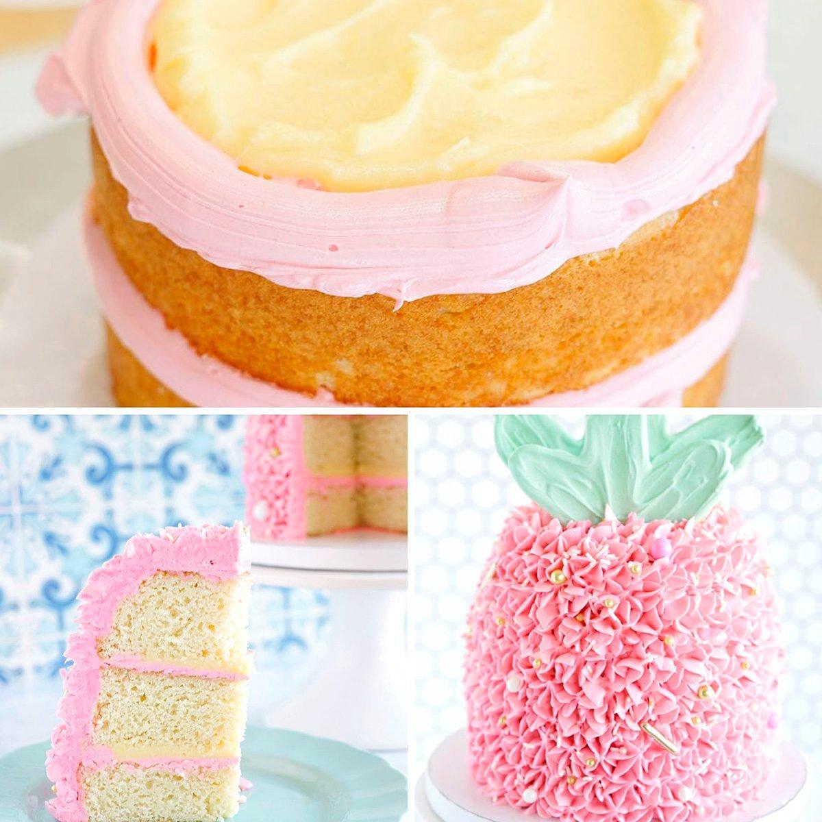 Pineapple cake decorating ideas