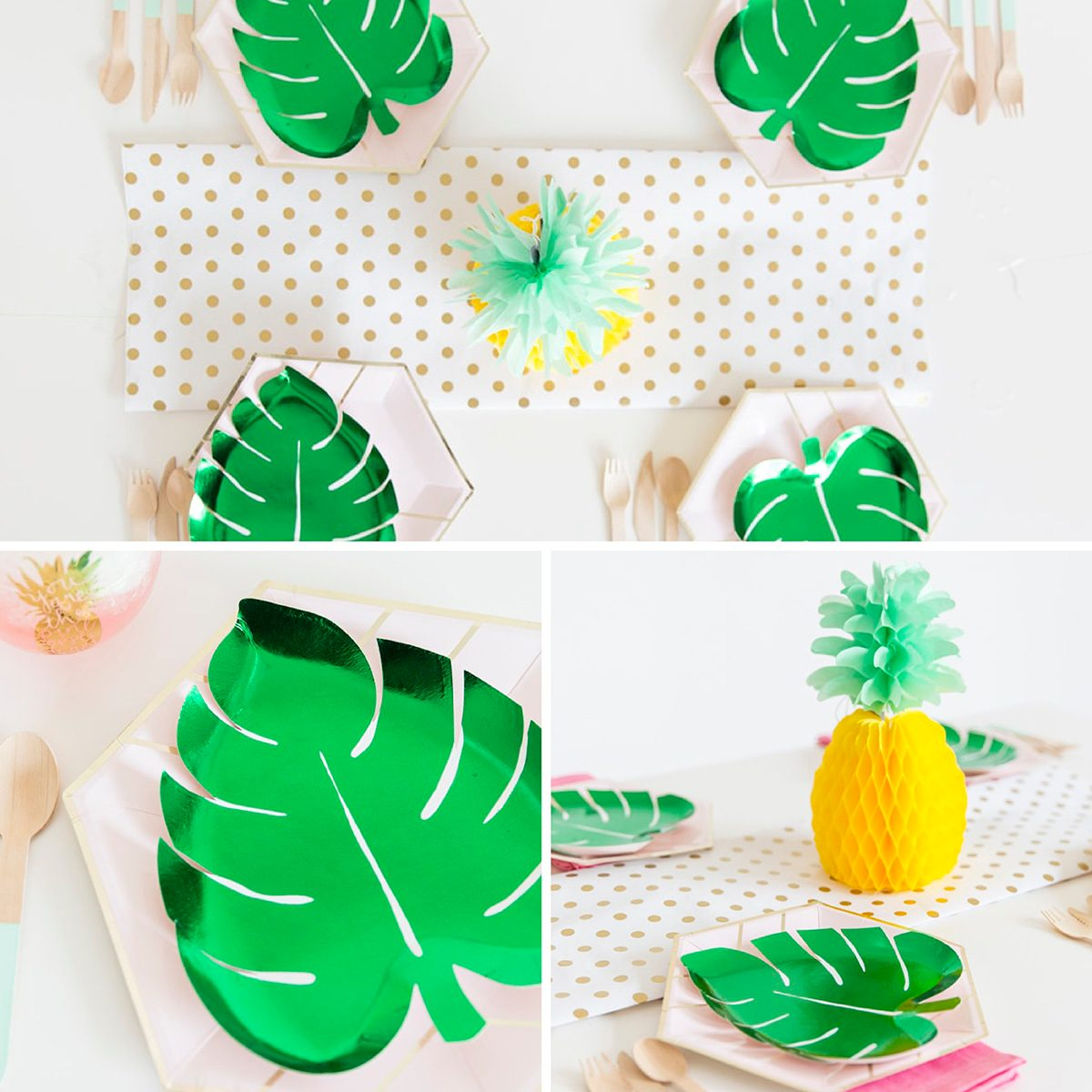 Pineapple table decorating ideas