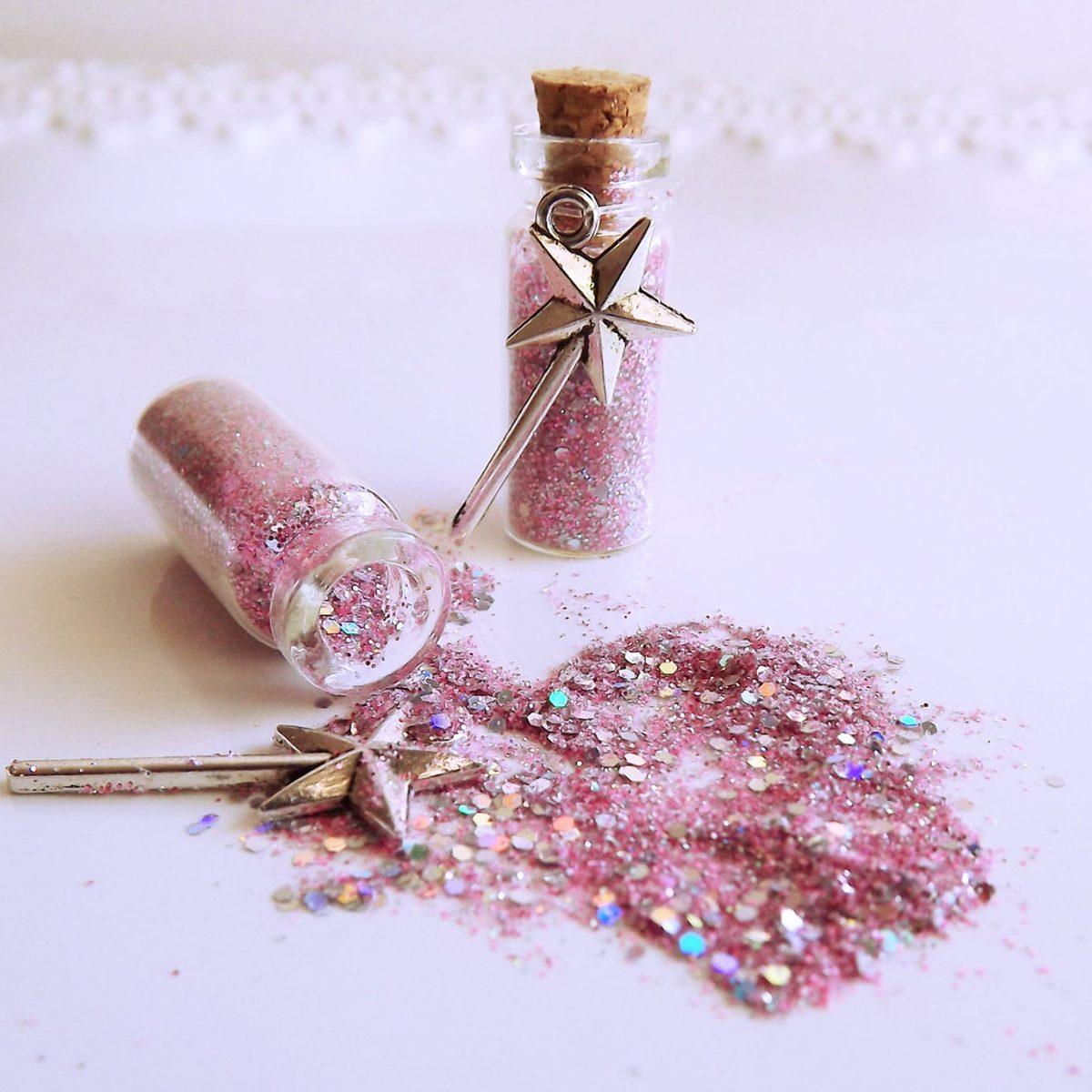 Fairy Wish Favors|Pink Party Favors|Princess Party Favors|Pixie Dust|Faerie Sprinkles|Set of 10