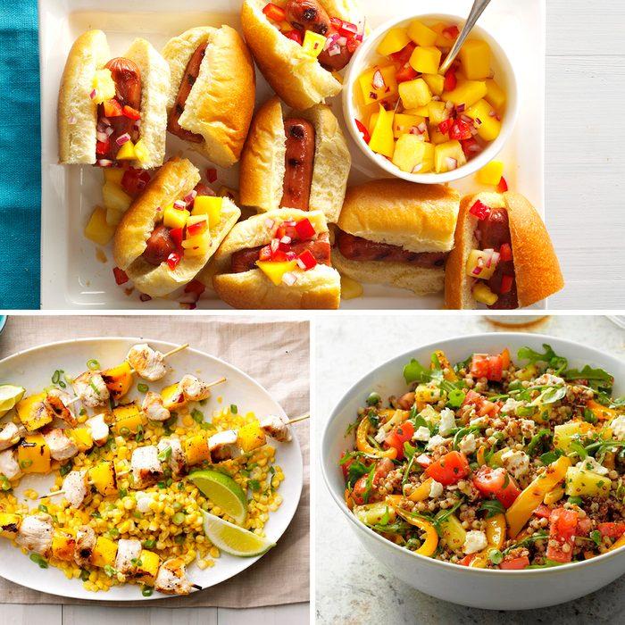 Taste of home recipe collage
