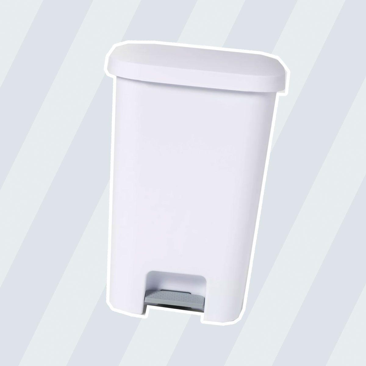 11.9gal Step Trash Can White - Room Essentials™