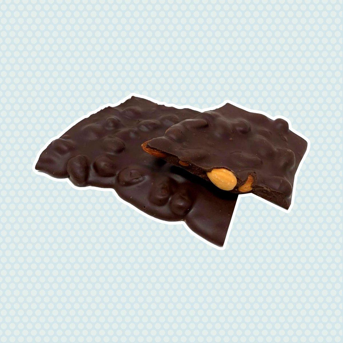 Andy Anand Sugar Free Dark Chocolate Almond Bark