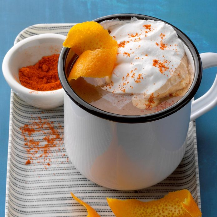 Chili-Orange Drinking Chocolate