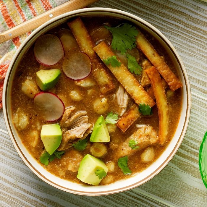 Pork and Hominy Stew