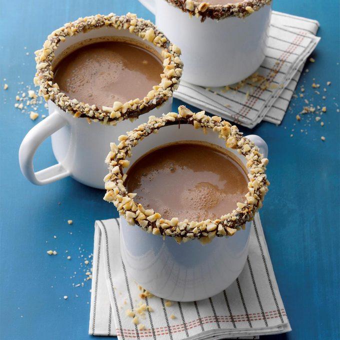 Hazelnut Mocha Hot Chocolate