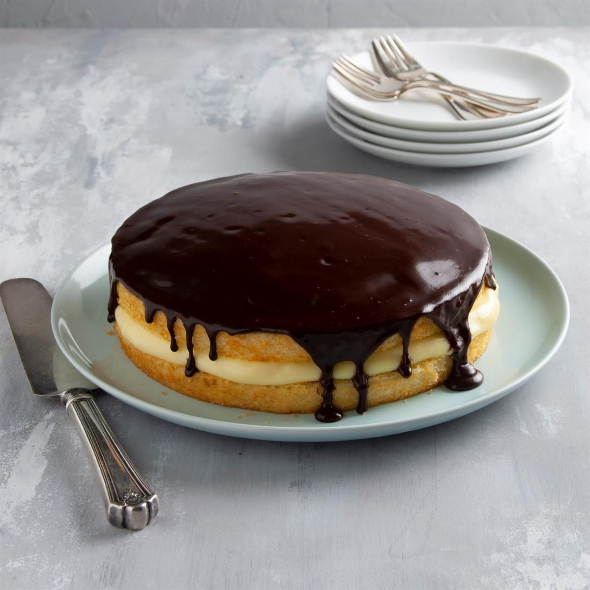United States: Boston Cream Pie