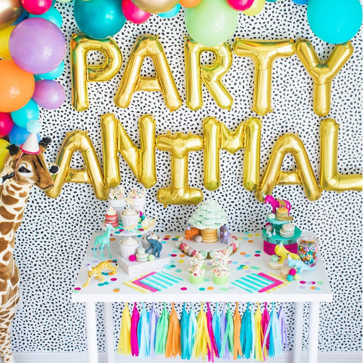 Party Animal Backdrop