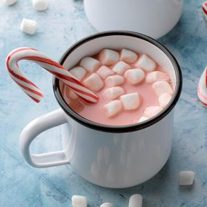 Peppermint Red Velvet Hot Chocolate