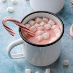 Peppermint Red Velvet Hot Chocolate