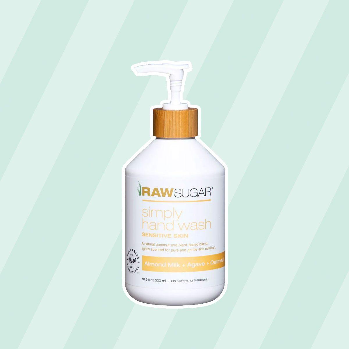 Raw Sugar Sensitive Skin Almond Milk + Agave + Oatmeal Soap