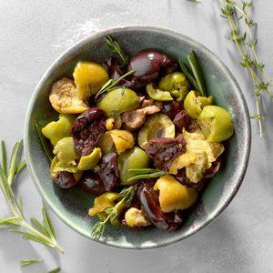 Smashed Olives