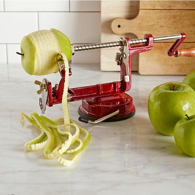 Apple peeler, corer, slicer