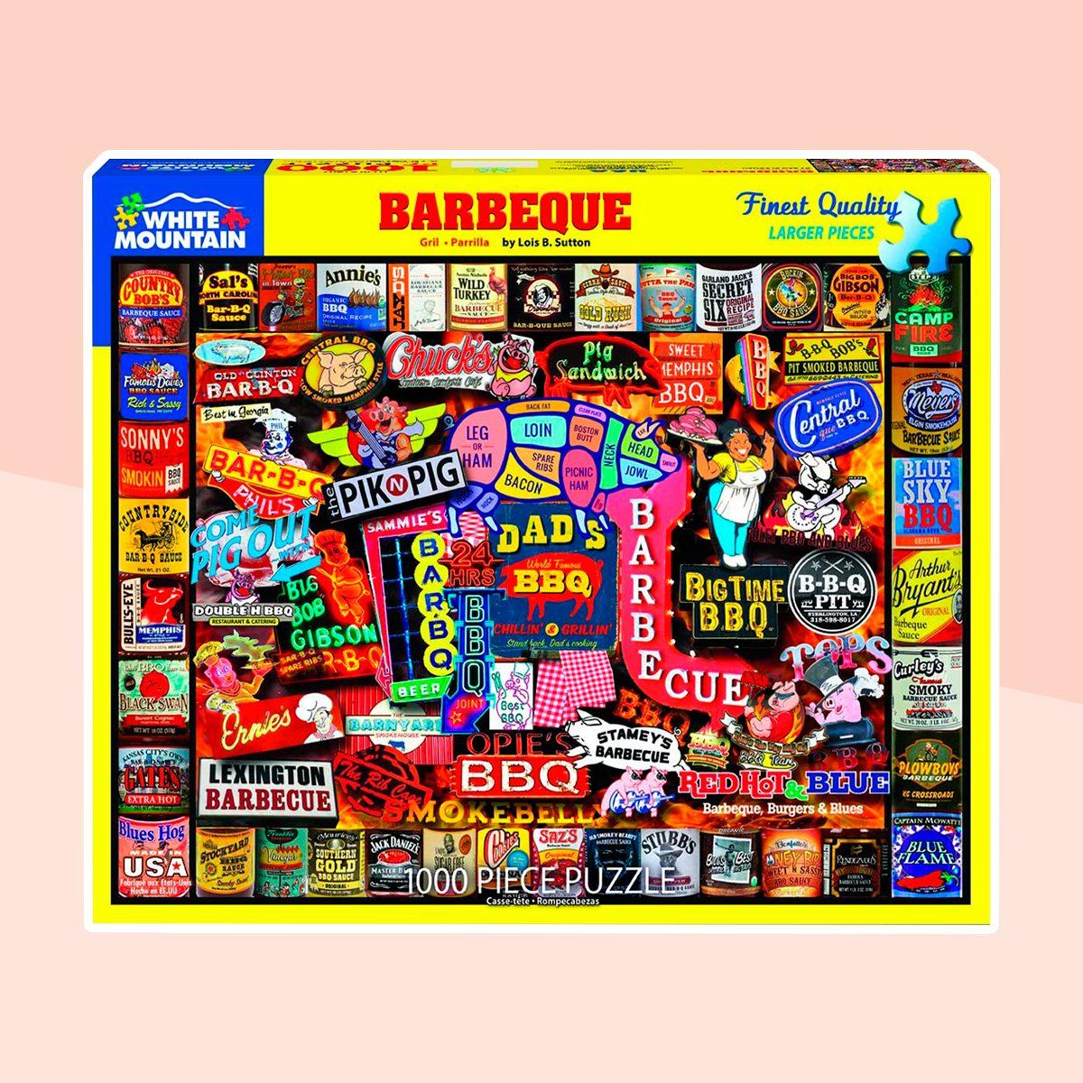 White Mountain Puzzles Barbecue 1000 Pc Puzzle, 1 EA