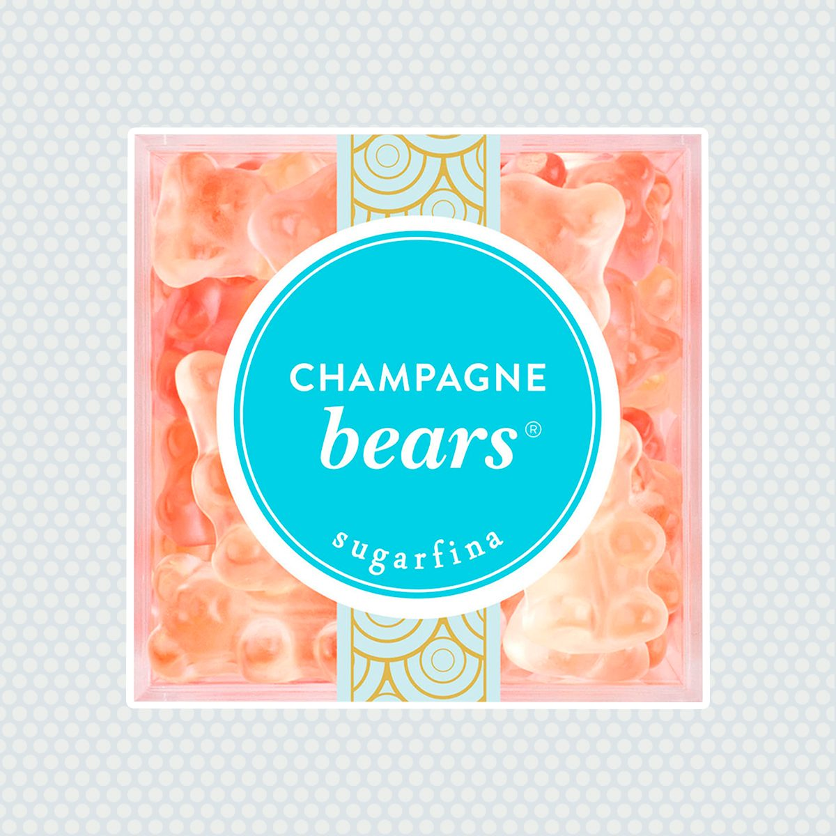 Champagne Bears® Large Candy Cube