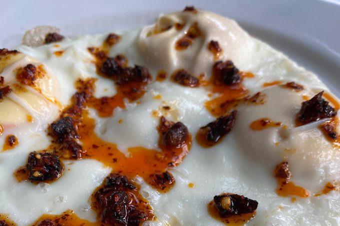 chili crisp egg