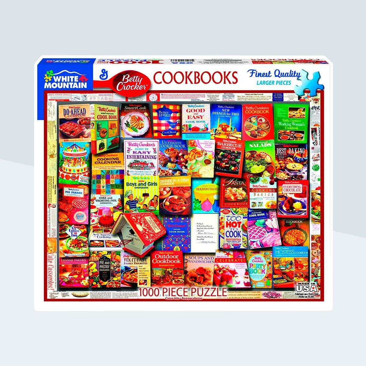 White Mountain Puzzles Betty Crocker Cookbooks - 100