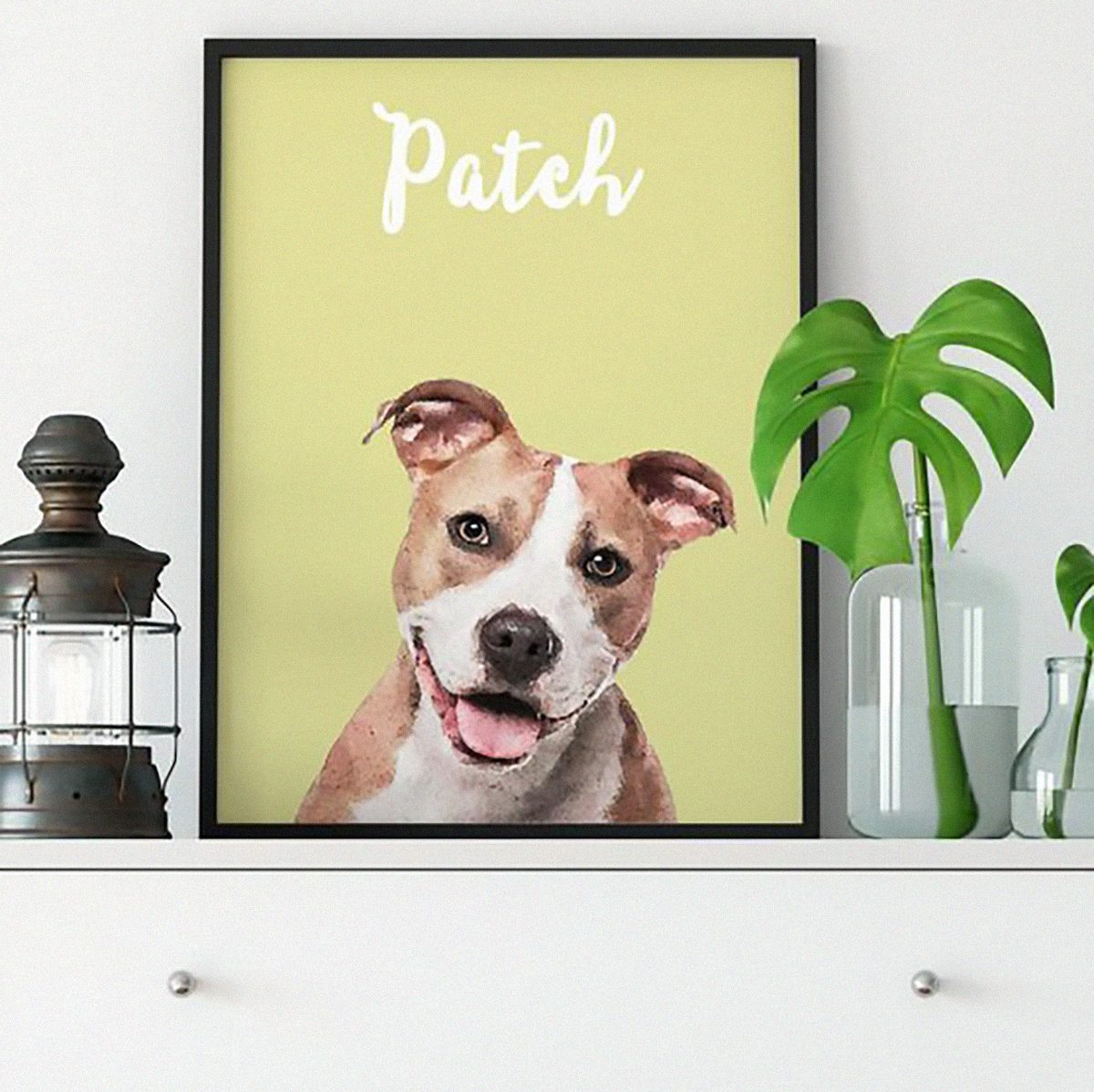 Custom Watercolor Pet Portrait, Pet Portrait, Custom Dog Portrait, Pet Illustration, Pet Art Print, Dog Lover Gift, Christmas Gift
