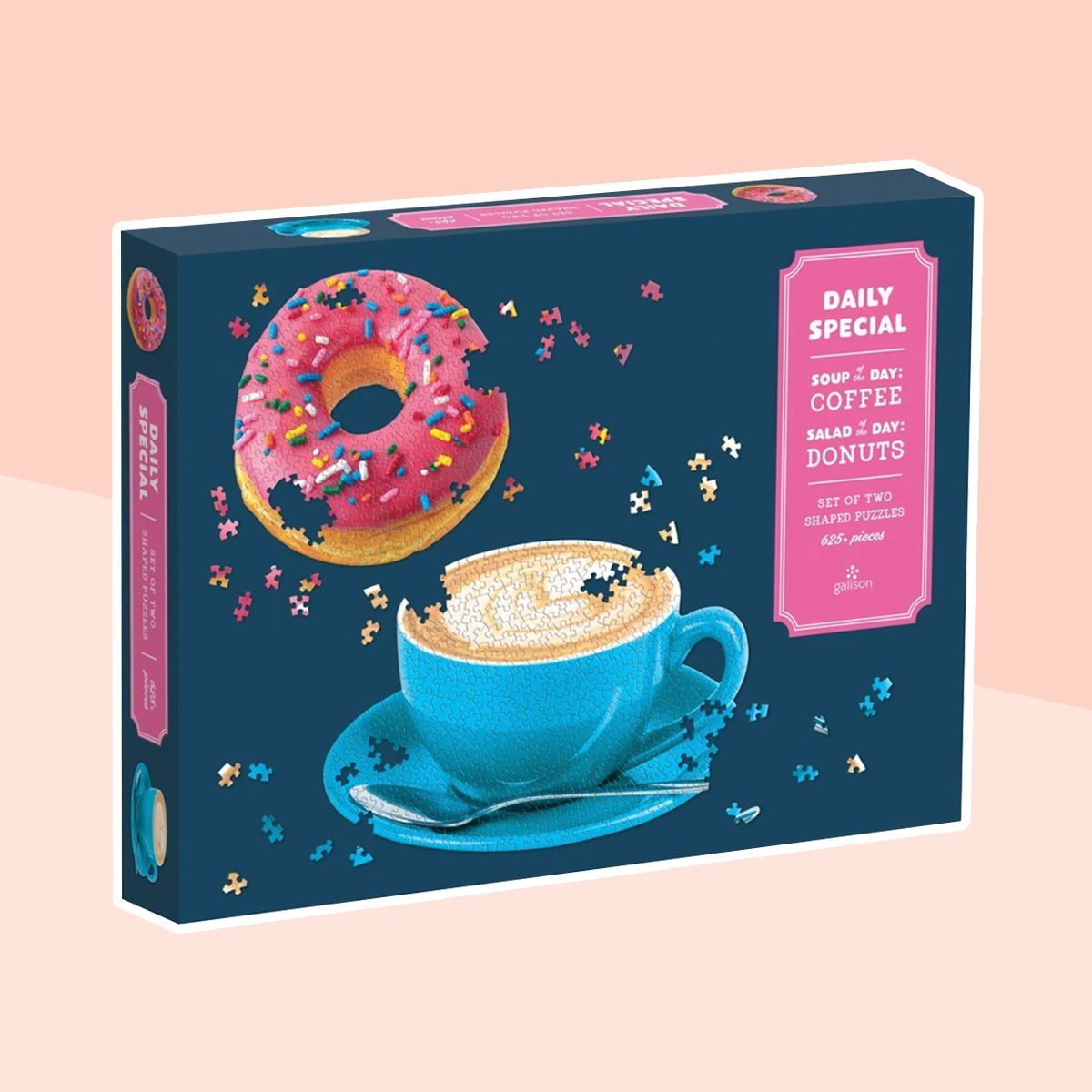 Daily Special Set Of Two Shaped Jigsaw Puzzle Set