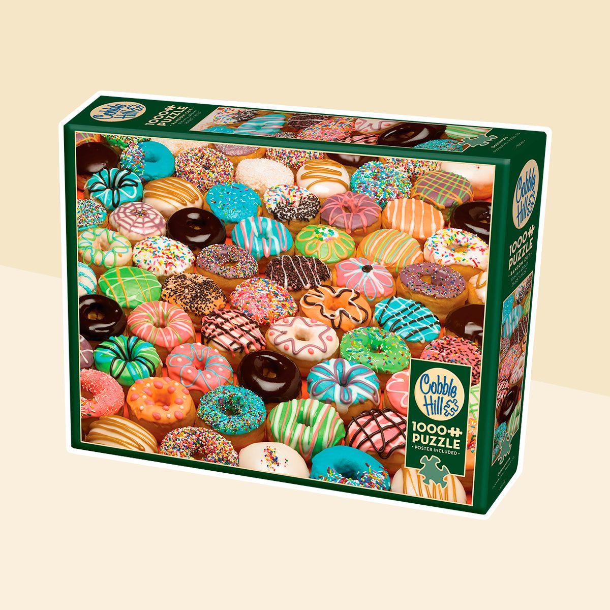 Cobble Hill: Doughnuts 1000 Piece Jigsaw Puzzle