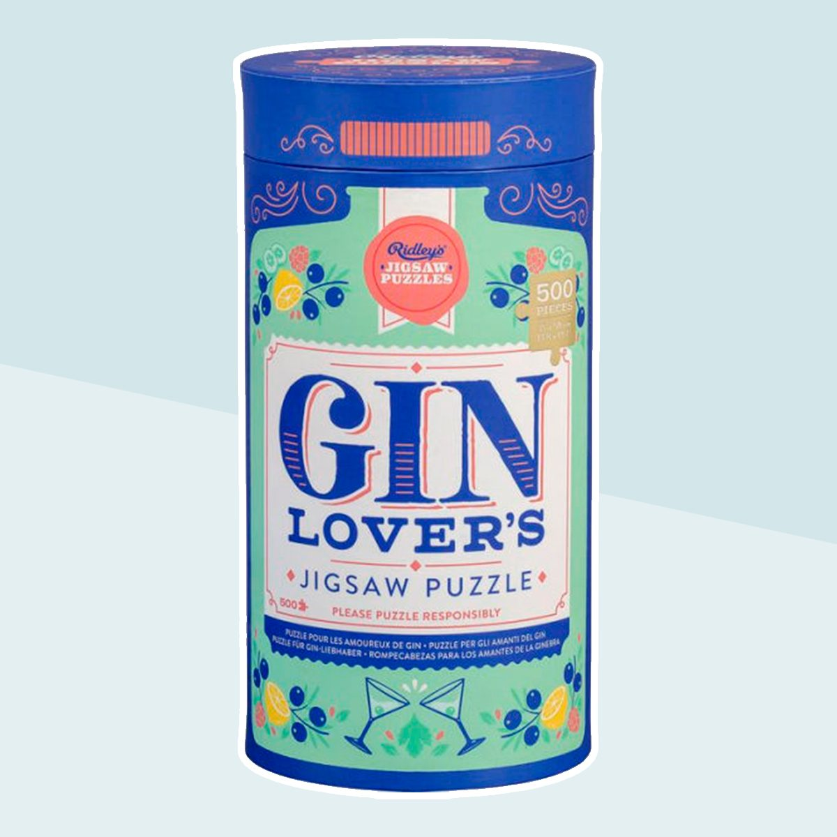 Ridley's Gin Lover's 500 Piece Jigsaw Puzzle
