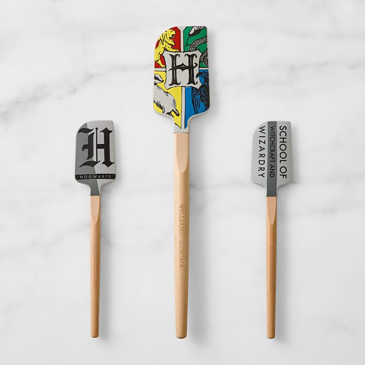 HARRY POTTER™ HOGWARTS™ Silicone Spatulas, Set of 3