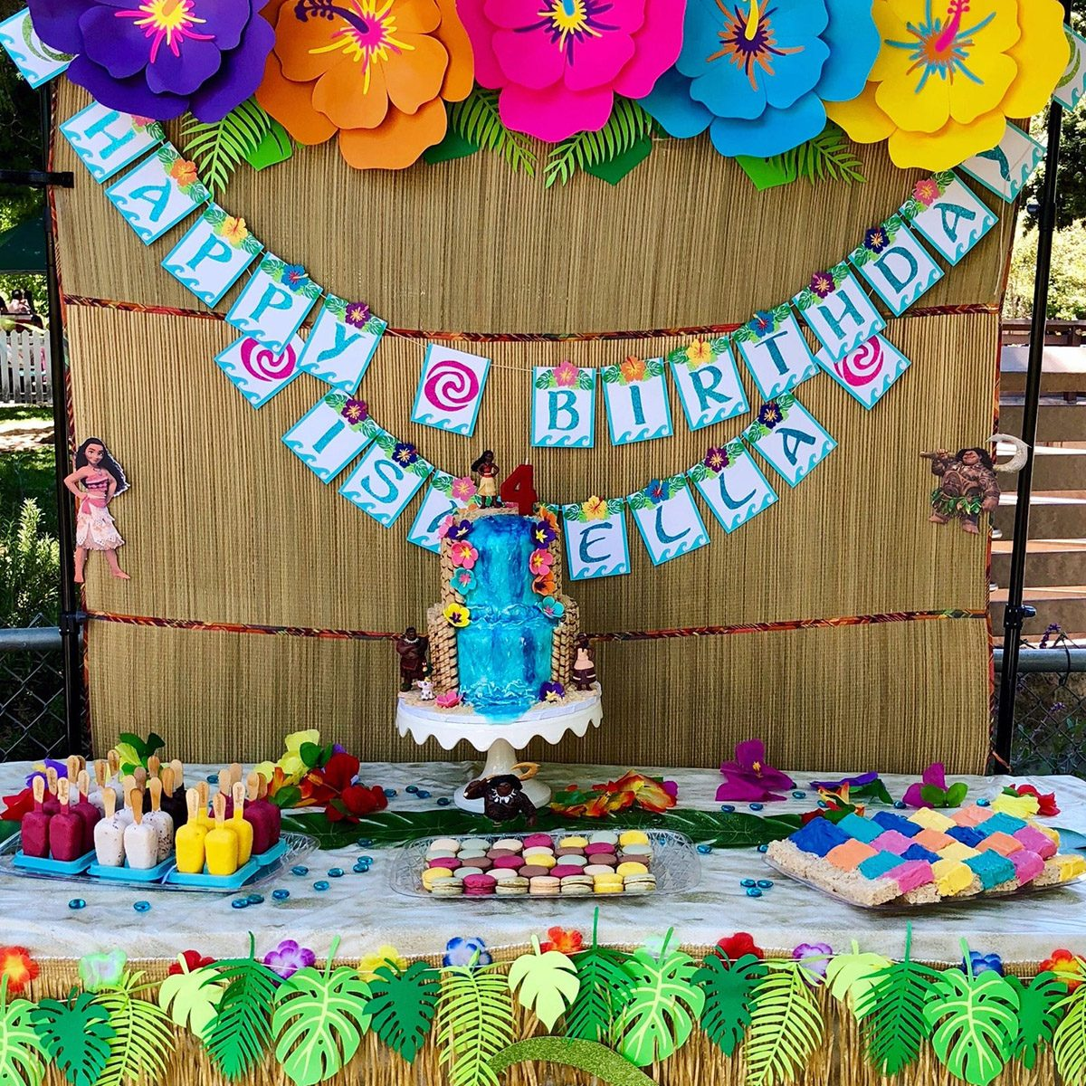 moana birthday