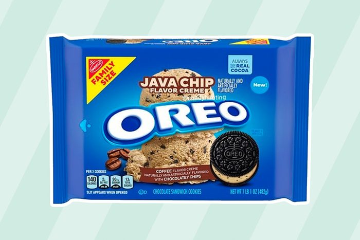 Oreo Java Chip Flavor