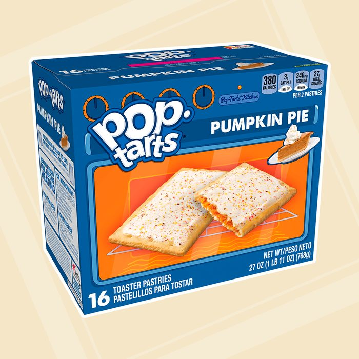 Pop-Tarts, Breakfast Toaster Pastries, Frosted Pumpkin Pie, 8 Ct, 27 Oz square