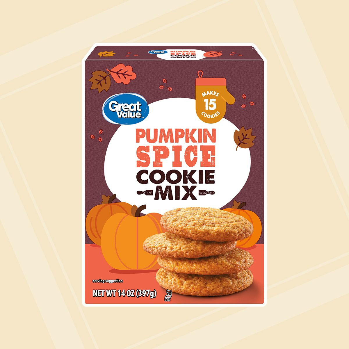 Great Value Pumpkin Spice Pancake & Waffle Mix