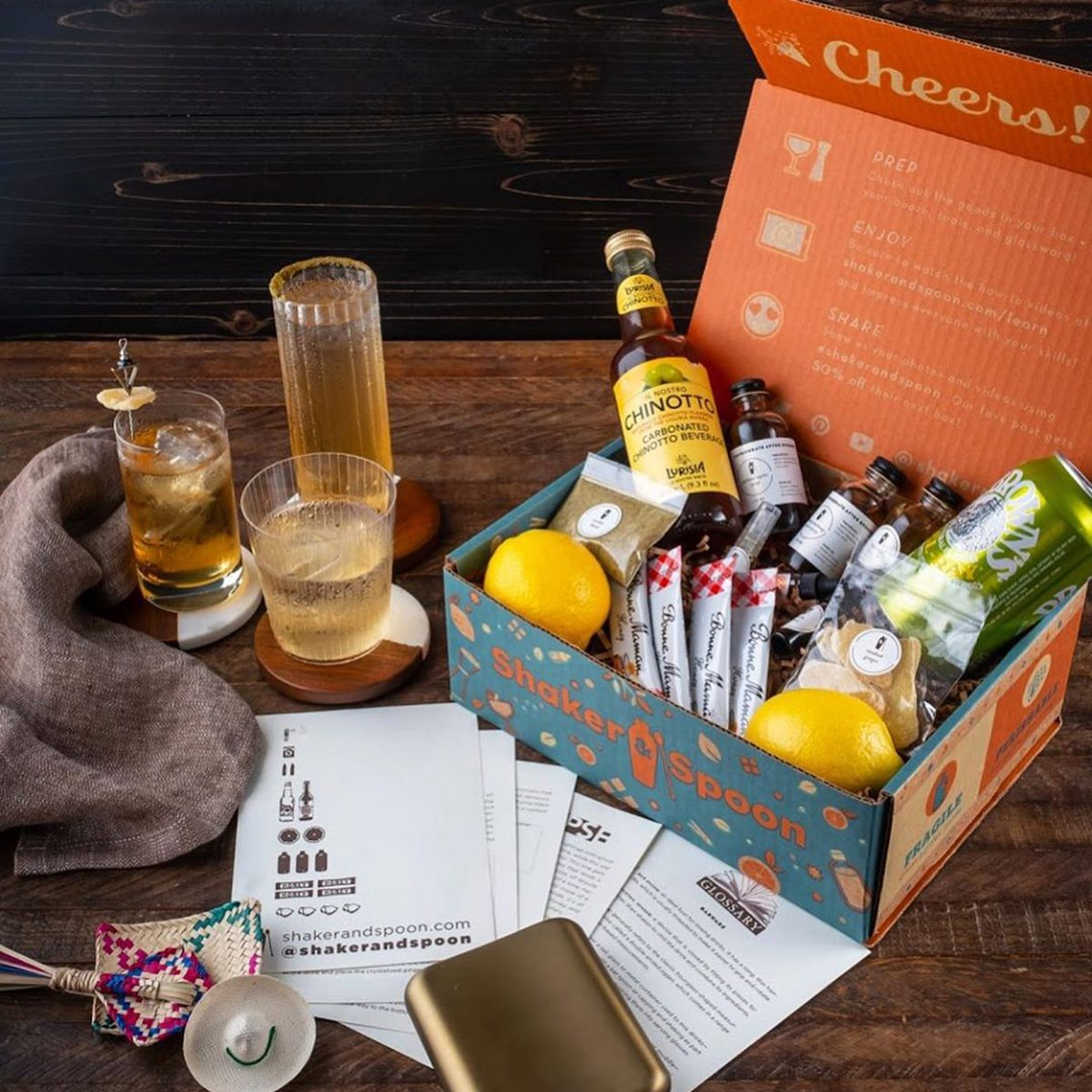 Shaker and Spoon subscription box