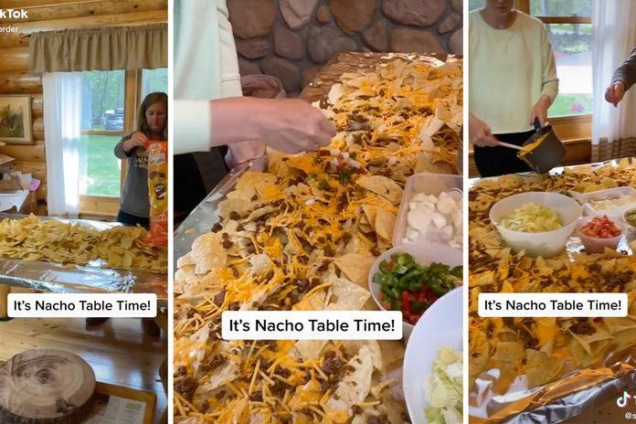 TikTok Nacho Table trend