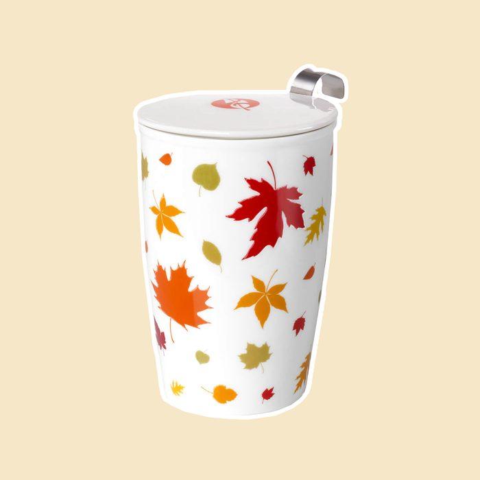 Adagio Autumn Leaves Tea Infuser Mug
