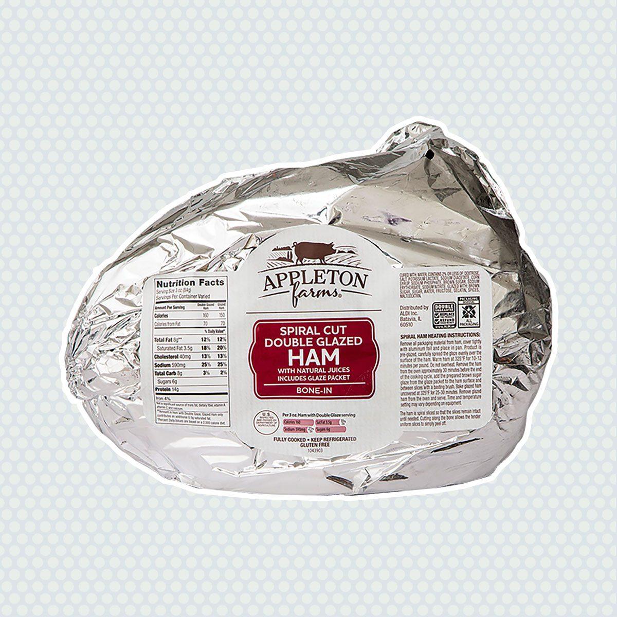 Appleton Farms Spiral Sliced Double Glazed Brown Sugar Ham