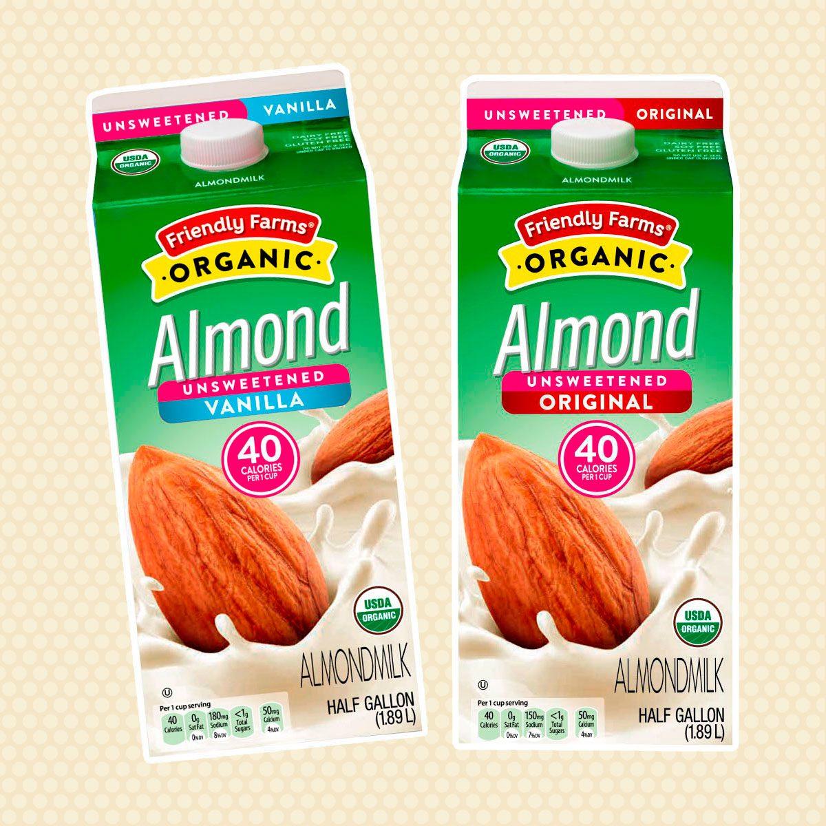 Friendly Farms Organic Almondmilk