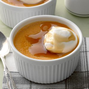 Ginger Tea Pumpkin Custard