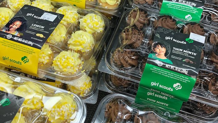 Girl Scout Cupcakes