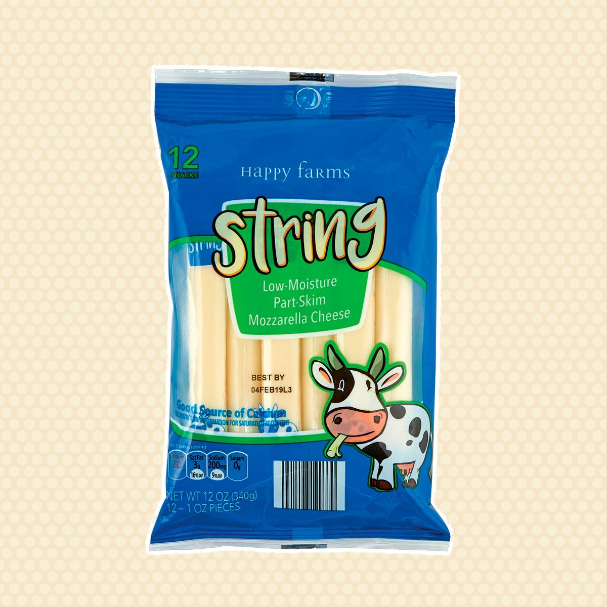 Happy Farms string cheese