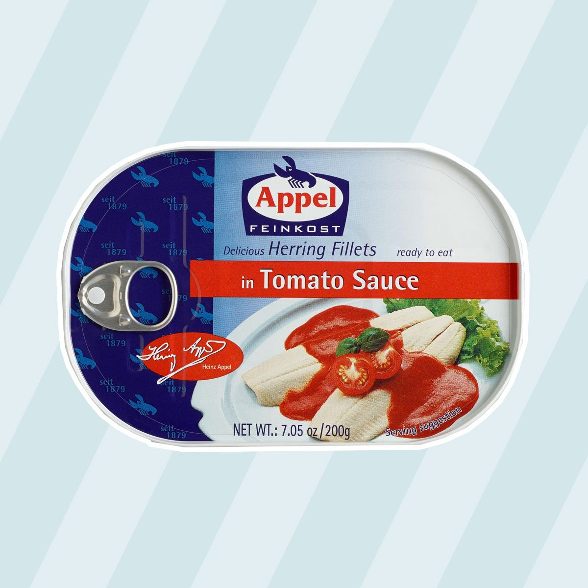 Herring Fillets In Tomato Sauce