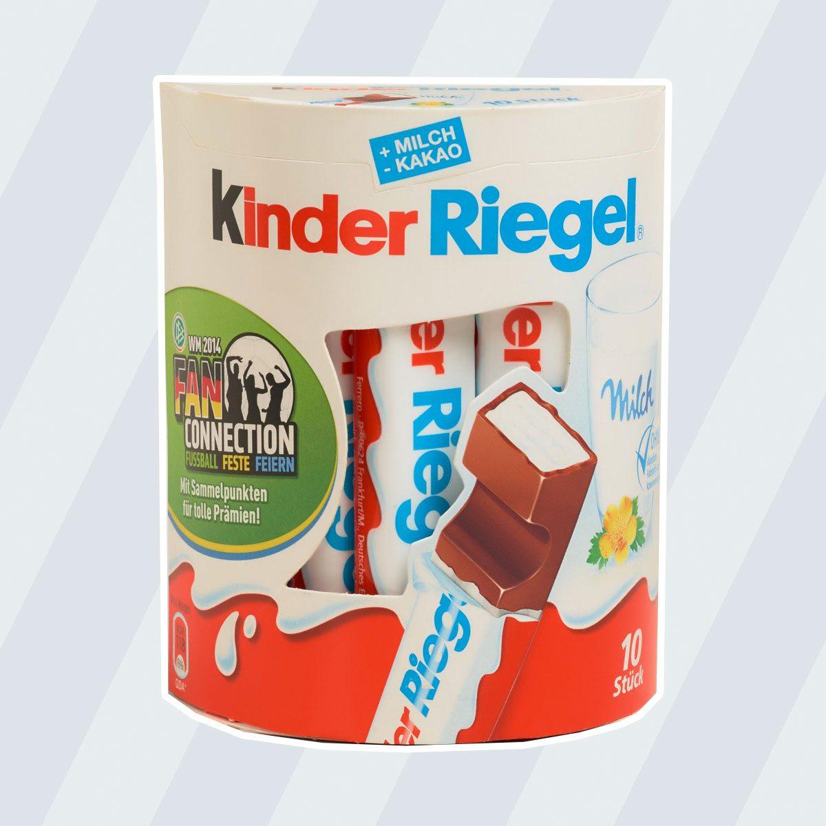 Kinder Riegel Milk Chocolate Sticks