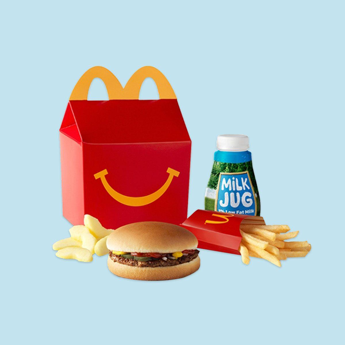 McDonald's Hamburger Happy Meal