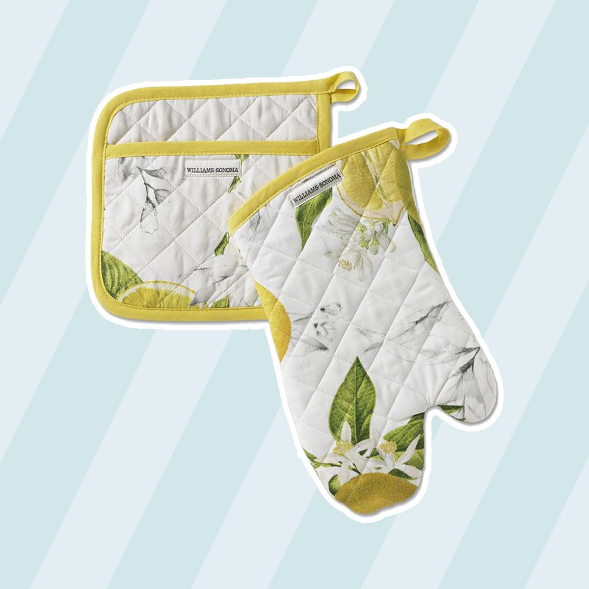 Meyer Lemon Oven Mitt & Potholder Set