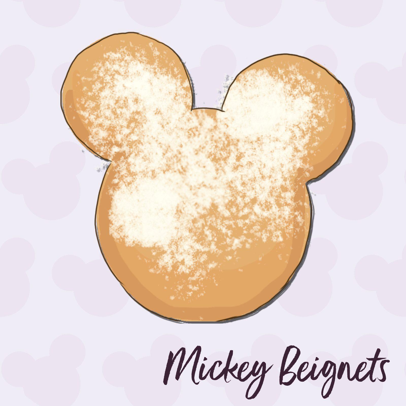 Mickey Beignets disney