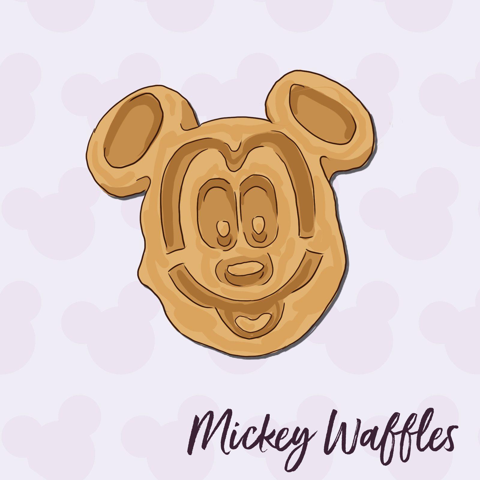 Mickey Waffles disney