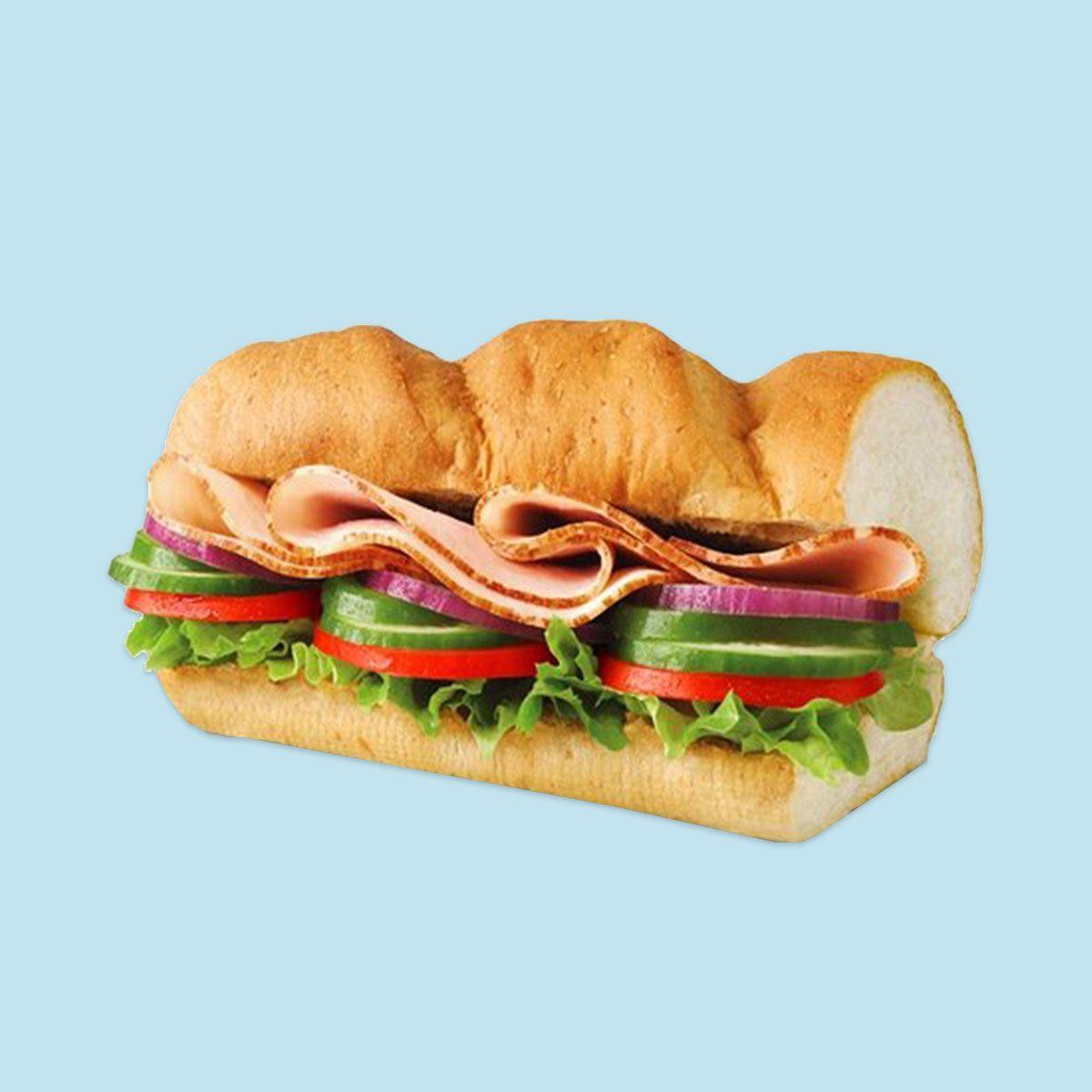 Subway's 6-inch Turkey Sub