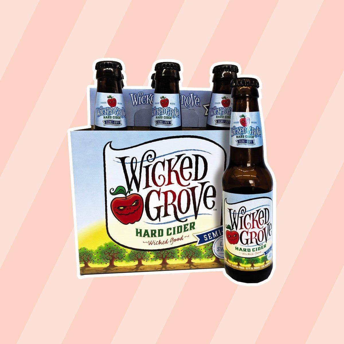 Wicked Grove Semi-Dry Hard Cider