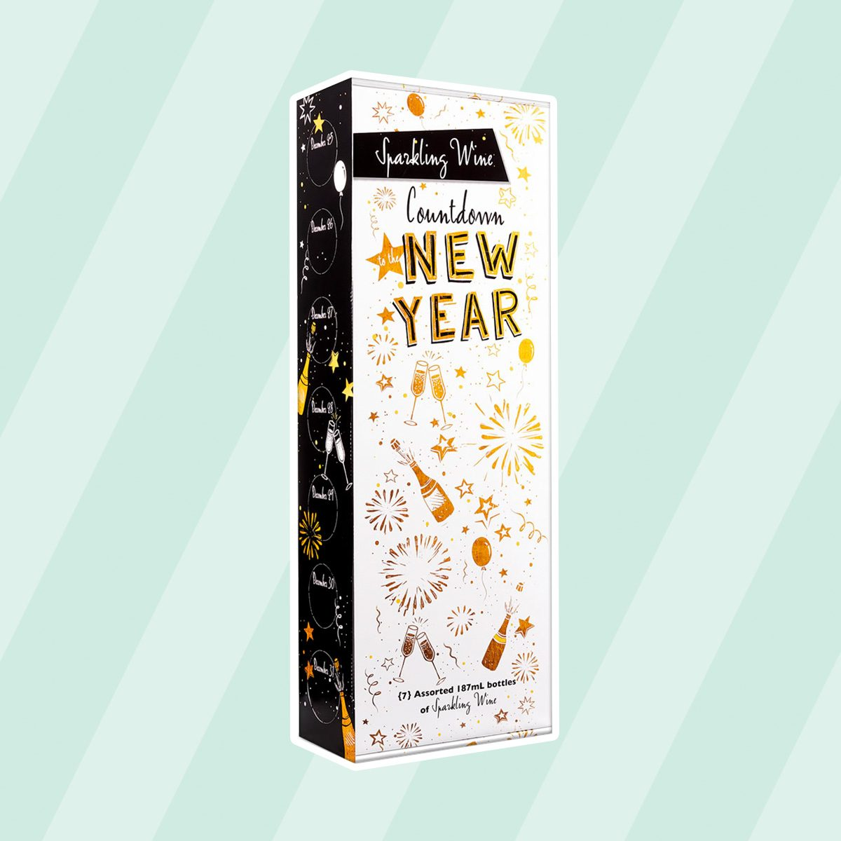 Aldi Sparkling Countdown to the New Year Wine Calendar