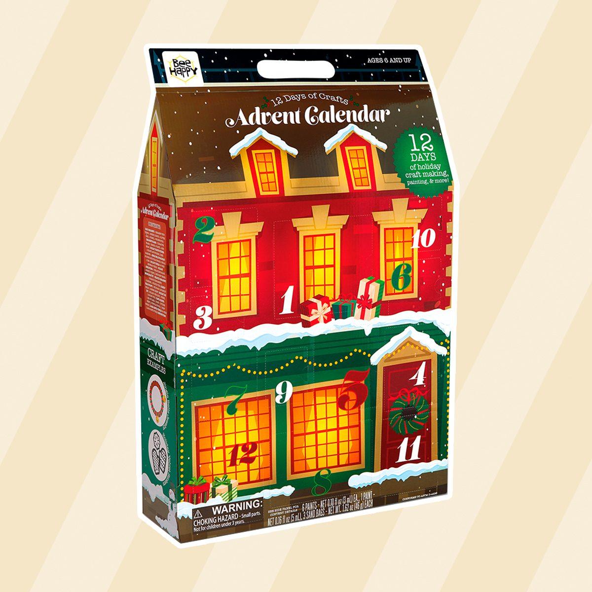 Aldi craft advent calendar