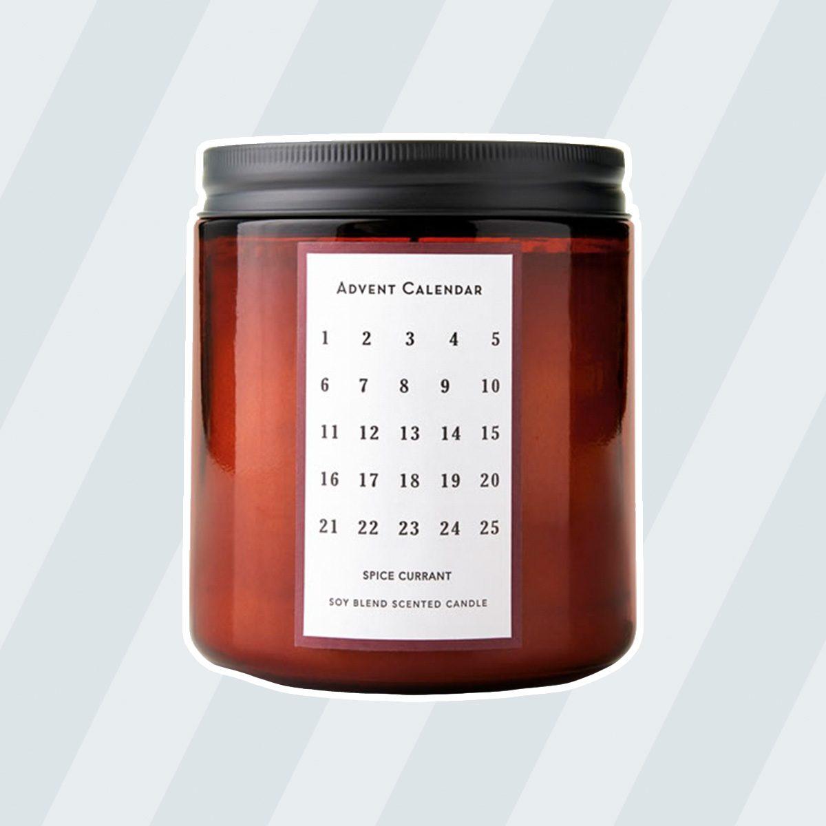 Aldi Huntington Home Advent Calendar Candle