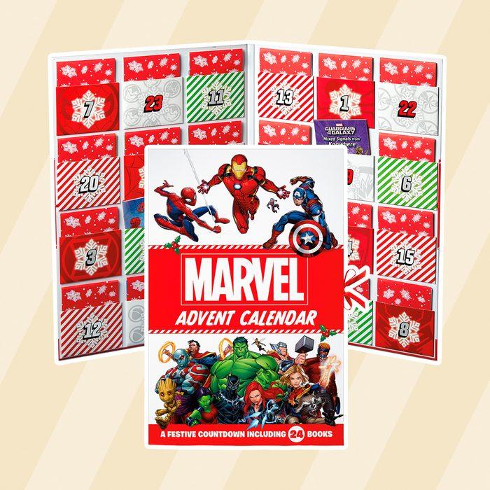 Marvel storybook advent calendar at aldi